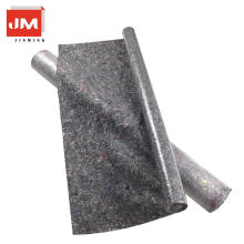 feltro preto não tecido do eco / feltro não tecido / rolo da tela do poliéster