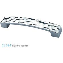 Liga de zinco móveis alça de armário (21305)