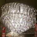 Crystal Flush Mount nuevos productos 2017 moderna lámpara de techo de la lámpara