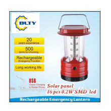 Multipe Function and Excellent Lighting Lumens Solar Camping Light