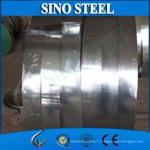 Fournissez la bande en acier galvanisée pour la porte de volet de rouleau