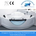 Seamed tub soaker bathtub