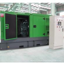 Grupo electrógeno silencioso de Diesel refrigerado por agua con motor Doosan (320KW / 400kVA)