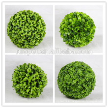 2017 new arrive artificial boxwood grass balls