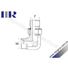 90 degrés Coude fil métrique réglable Adaptateur de tube (1CH9)