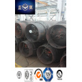 840L 573kg Steel Welding Refillable Gas Cylinder for Liquified Chlorine