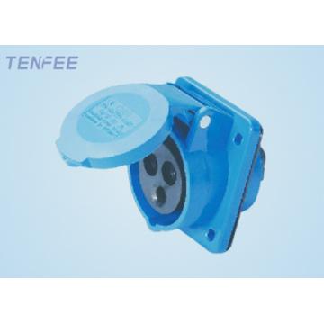 панельный монтаж socket(inclined) 16А 220-240v