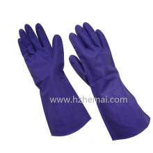 Nitrile Dipped Chemical Safety Gloves Latex Free Household Gloves Work Glove