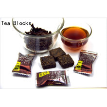 125g detoxification and relaxing tendons Chinese block Puer tea