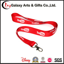 Lanyard Type You Tube Promotional Lanyard with Silk Screen