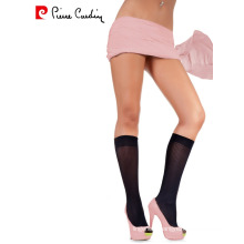 Pierre Cardin OEM Women's 40 Denier Opaque Elegant Patterned Knee High Socks 3 Colors