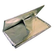 2025HTALBL Aluminium Laminated Fiberglass Fabrics Heat Treated Welding Blanket