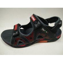 China-Qualitäts-Leder-Schuhe im Freien Sommer-Freizeit-Sandelholze für Männer