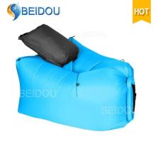Sleeping Lazy Bag Sofá Beanbag Bolsa inflable de bolsa de frijol de aire