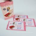 Custom Pack 20PCS Travel Individually Wrapped Feminine Wipes