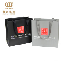 Customizable High End Retail Merchandise Gift Shopping Packaging Guangzhou Manufacturer Paper Bag