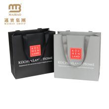 Customizable High End Retail Merchandise Gift Shopping Packaging Guangzhou Manufacturer Paper Bag