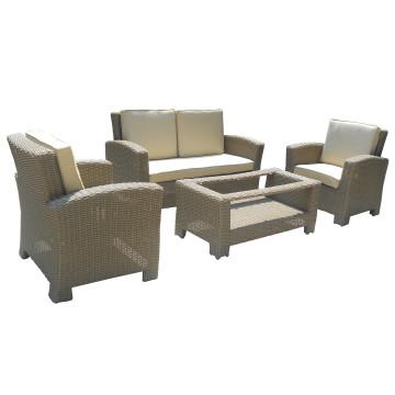 Wicker Garden Patio Outdoor Lounge Furniture Sofa Set