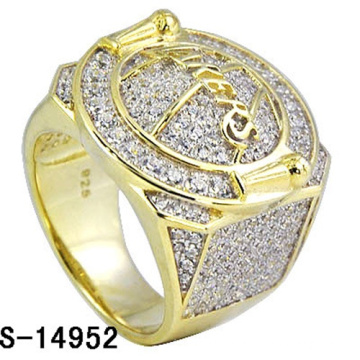Hip Hop Jewelry 925 Sterling Silver Ring