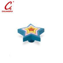 PVC Catoon Star Handle for Kids Cabinet Door & Drawer