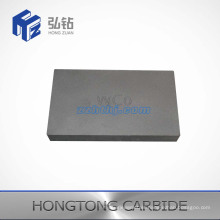 Customized Tungsten Carbide Plate with One Face Grooved