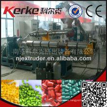 Granulador de plástico de residuos Fácil de operar Gránulos de plástico reciclado de precios reaccionables