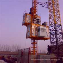 Grua do edifício da construção da gaiola Sc200 / 200 / maquinaria construção dobro