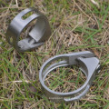 31.8mm Road MTB Seatpost Clamp Titanium Alloy Bicycle Mountain Bike Pipe Clamps