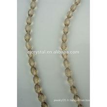 Perles pour écharpe de perles de verre