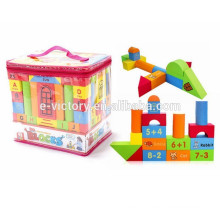 74 pcs DIY Building Block EVA Foam Building Block Children Building Blocks
