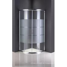 Einfache Duschwand ohne Tablett