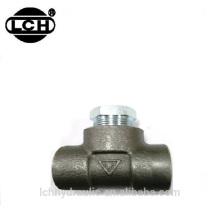 Hochdruck-Rohrverschraubungen 8mm Hydraulische 3-Wege-Rohr-Schlauchverbinder