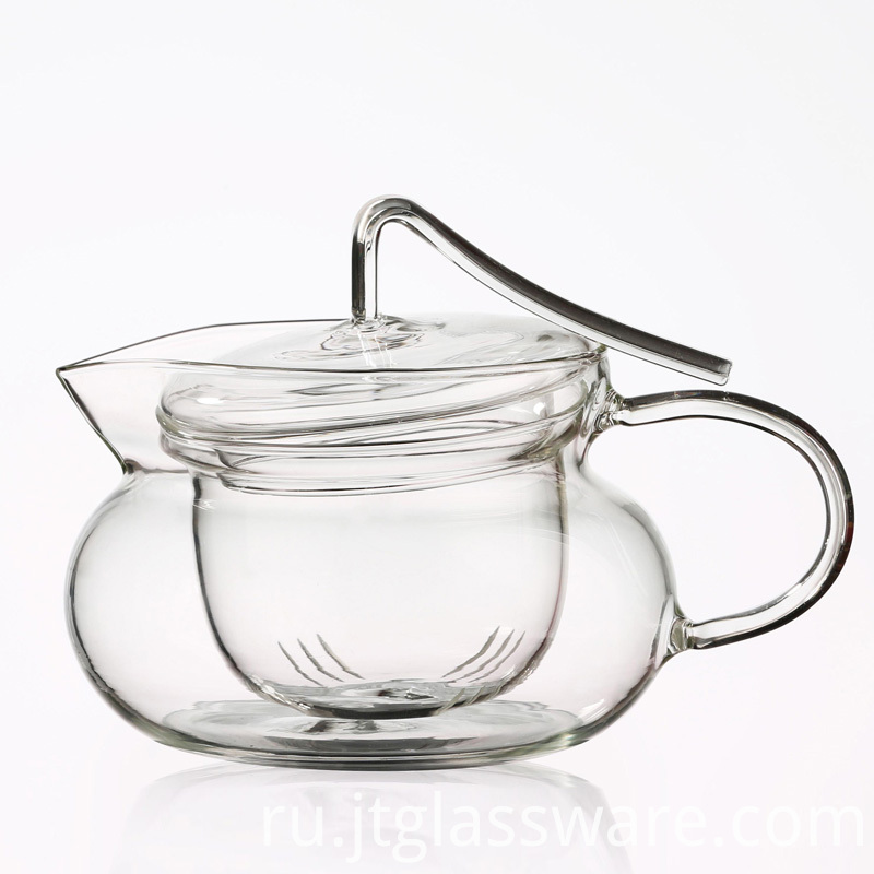 Glass Herbal Teapot