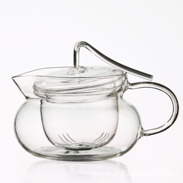 Best Selling Insulated Glass Herbal Teapot