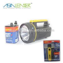 6V Batterie Bewegliche geführte wiederaufladbare Handlampe