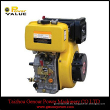 Motor diesel de la energía fuerte de ZH186F 7.7kw hecho en China