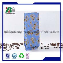 Side Zwickel Kaffee Verpackung Tasche mit Ventil