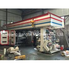 Máquina de impressão flexográfica de alta velocidade