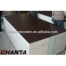 brown melamine film faced plywood board, 4x8x18mm film faced plywood