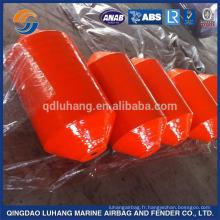 Fender rempli de couleur orange EVA marin pour des bateaux
