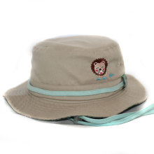 Kids Custom Logo Bucket Hat with String