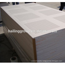 Construction Perforated Gypsum Board in 2018