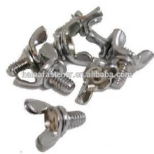 wing bolt and nut, wing screw, butterfly screw factory export
