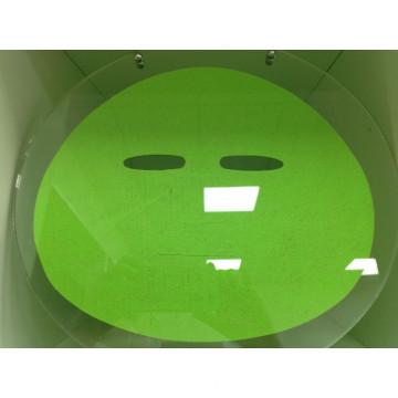Nouveaux produits vert aloès fibre masque facial feuille additif gratuit