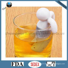 Mr. Tea Infuser Filtre à thé en silicone avec approuvé par la FDA St02