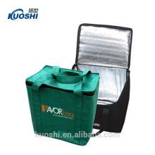 горячий и холодный мешок охладителя обеда с держателем для напитков