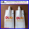 Выдвиженческая популярная дешевая изготовленная на заказ складная бутылка воды (EP-B7154)