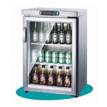 Fabriqué en Chine Réfrigérateur de porte en verre