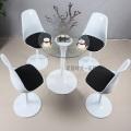 Современная классическая тюльпан стул и Стул вращающийся обеденной