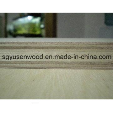 18 mm ambos os lados laminado de madeira compensada do núcleo de madeira